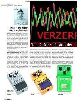 Guitar Gear Tone Guide