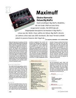 Gitarre & Bass Electro-Harmonix Deluxe Big Muff π, FX-Pedal