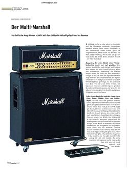 Guitar Gear Amp - Marshall JVM 410 Head