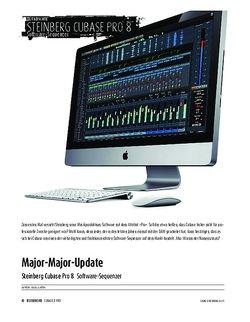 Sound & Recording Steinberg Cubase Pro 8 - Software-Sequenzer