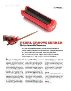 Sticks Pearl Groove Shaker