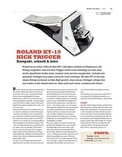 Sticks Roland KT-10 Kick Trigger