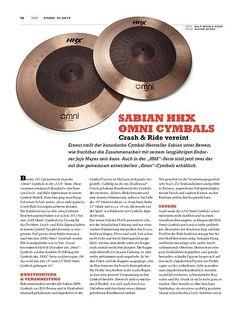 Sticks Sabian HHX Omni Cymbals