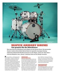 Sticks Mapex Armory Drums