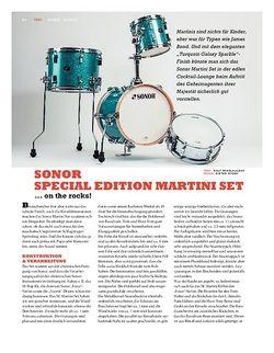 Sticks Sonor Special Edition Martini Set