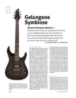 Gitarre & Bass Schecter Hellraiser Hybrid C-1, E-Gitarre