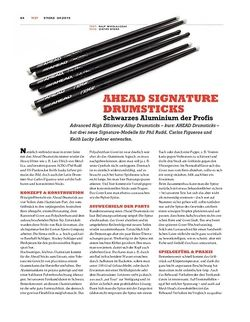 Sticks Ahead Signature Drumsticks