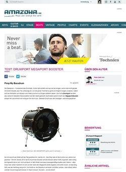 Amazona.de Test: Drumport Megaport Booster