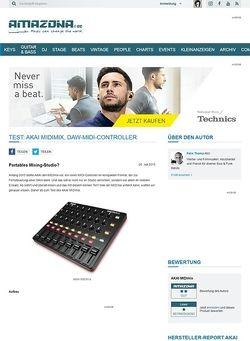 Amazona.de Test: Akai MIDImix, DAW-MIDI-Controller
