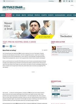 Amazona.de Test: PRS SE Kestrel Bass, E-Bass