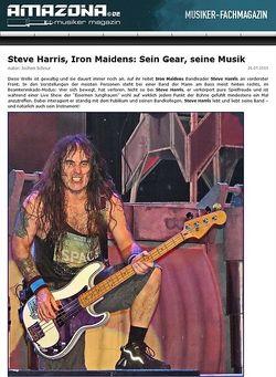 Amazona.de Report: Bassisten, die Geschichte mach(t)en - Steve Harris