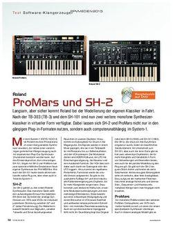 Keys Roland ProMars und SH-2