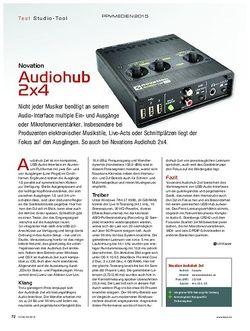 Keys Novation Audiohub 2x4