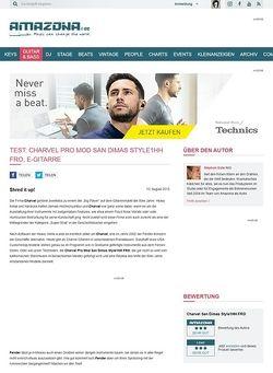 Amazona.de Test: Charvel Pro Mod San Dimas Style1HH FRO, E-Gitarre