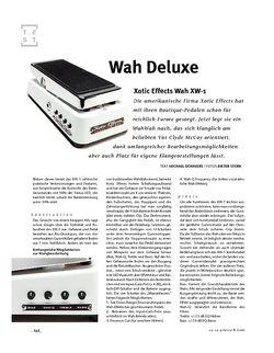Gitarre & Bass Xotic Effects Wah XW-1, WaWah-Pedal