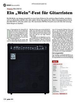 Guitar Ampeg BA-210 V2