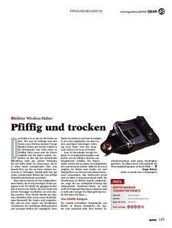 Guitar Richter Maybaum Transmitter Pockets