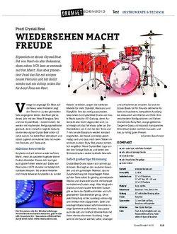 Drumheads Pearl Crystal Beat & LED DrumLite