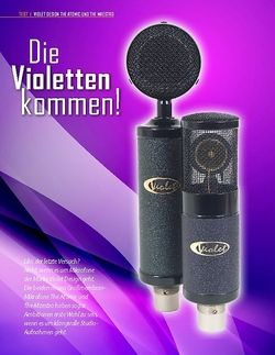 Professional Audio Violet Design Atomic und Maestro