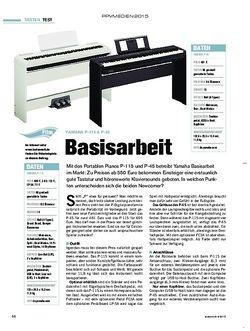 Tastenwelt Yamaha P-115 + P-45