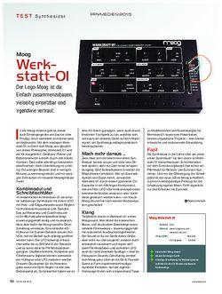 KEYS Moog Werkstatt-OI