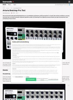 Bonedo.de Arturia Beatstep Pro