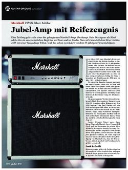 Guitar Marshall 2555X Silver Jubilee