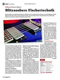 Guitar Fishman Fluence Modern