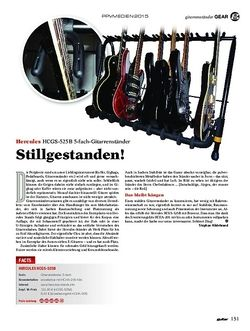 Guitar Hercules HCGS-525B 5-fach-Gitarrenständer