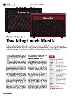Guitar Blackstar ID Core:Beam