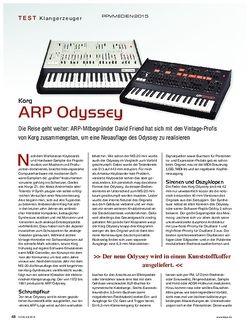 KEYS Korg ARP Odyssey