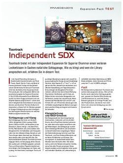 KEYS Toontrack Indiependent SDX