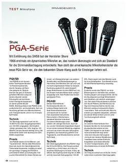 KEYS Shure PGA-Serie