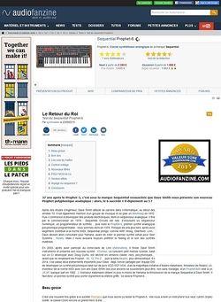 Audiofanzine.com Sequential Circuits Prophet-6