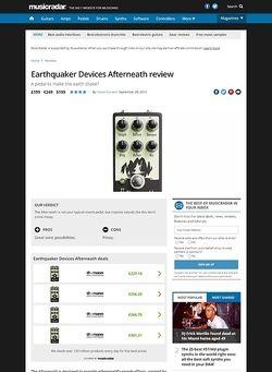 MusicRadar.com Earthquaker Devices Afterneath