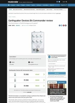 MusicRadar.com Earthquaker Devices Bit Commander