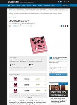 MusicRadar.com Strymon DIG