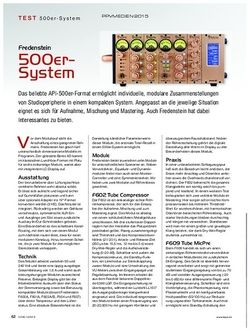 KEYS Friedenstein 500er-System