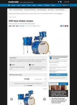MusicRadar.com PDP New Yorker
