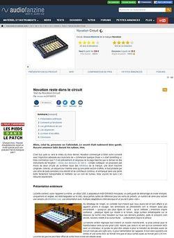 Audiofanzine.com Novation Circuit