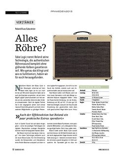 SOUNDCHECK Roland Blues Cube Artist