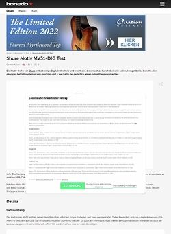 Bonedo.de Shure Motiv MV51