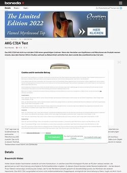 Bonedo.de AKG C314