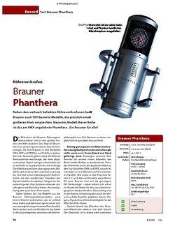 KEYS Test: Brauner Phanthera