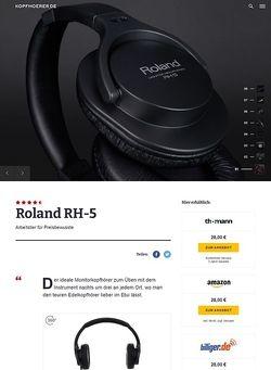 Kopfhoerer.de Roland RH 5