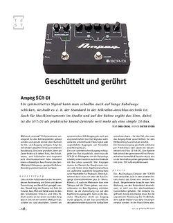 Gitarre & Bass Ampeg SCR-DI, Bass-DI & -Preamp