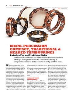 Sticks Meinl Percussion Compact, Traditional & Headed Tambourines