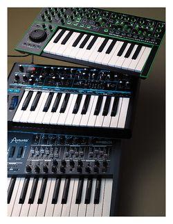 Keyboards Newschool-Synthis zwischen CV/Gate und DAW