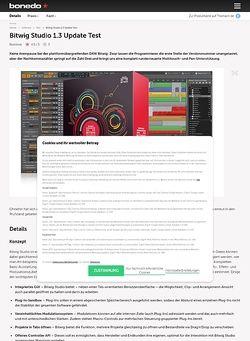 Bonedo.de Bitwig Studio 1.3 Update