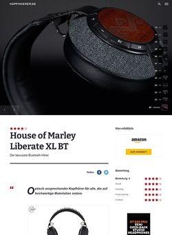 Kopfhoerer.de House of Marley Liberate XL BT Midnight